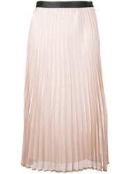 Guild Prime Pleated Midi Skirt Pink Purple