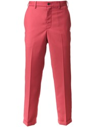 Loveless Cropped Tailored Trousers