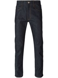 Gucci Straight Leg Jeans Blue