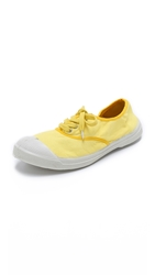 Bensimon Tennis Color Piping Sneakers Yellow