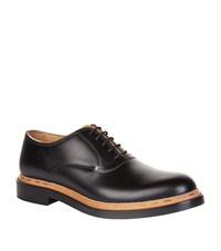 Valentino Unfinished Formal Shoes Male Black