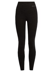 Falke Wool Tech Performance Leggings Black