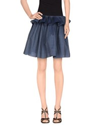 Alexis Mabille Denim Denim Skirts Women