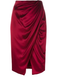Camilla And Marc 'Mandolin' Skirt Red