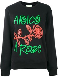 Aries Arose Sweatshirt Black