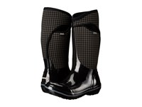 Bogs Plimsoll Houndstooth Tall Black Multi Women's Waterproof Boots