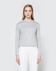 Won Hundred Noelle Pullover Sweater Heather Grey