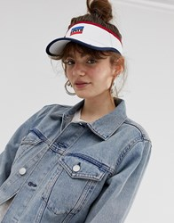 Levi's Sports Logo Visor White