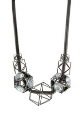 Sweet Deluxe Liverpool Necklace Gunmetal