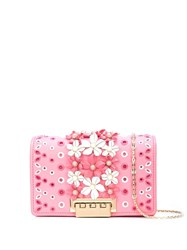Zac Posen Earthette Accordion Mini Crossbody Pink