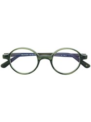 L.G.R Classic Round Glasses Green