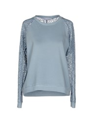 Lo Not Equal Topwear Sweatshirts Women Coral
