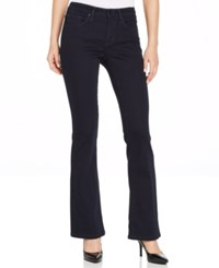 Calvin Klein Jeans Curvy Fit Bootcut Jeans Resin Rinse