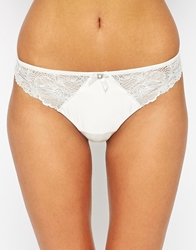 Marie Meili Bridal String Thong Ivory