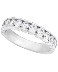 Macy's Diamond Wedding Band Ring In 14K White Gold 3 4 Ct. T.W.