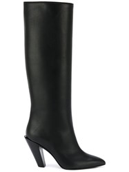 A.F.Vandevorst Pointed Boots Black