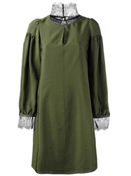 Dorothee Schumacher 'Urban Romance' Dress Green