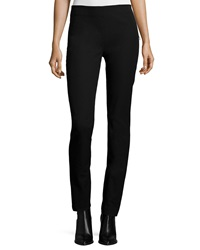 Joseph Side Zip Slim Stretch Pants Black