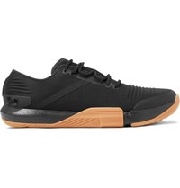 Under Armour Tribase Reign Canvas And Ripstop Sneakers Black