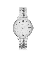 Fossil Jacqueline Stainless Steel Women's Watch Silver