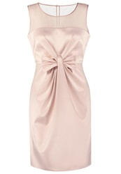 Derhy Philatelie Cocktail Dress Party Dress Nude