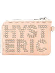 Hysteric Glamour Bag Accessory Calf Leather Pink Purple