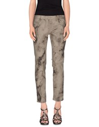 Mauro Grifoni Denim Denim Trousers Women Beige