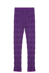 Missoni Rochelle Leggings Purple