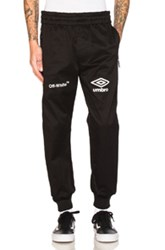 Off White X Umbro Pants In Black