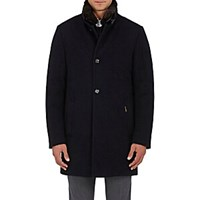 Moorer Cashmere Down Coat Navy