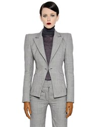Gareth Pugh Prince Of Wales Wool Jacket