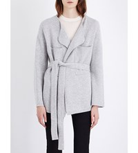 Joseph Light Outer Wool Cardigan 287 Marble