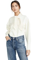 C Meo Collective Explanatory Button Down Ivory