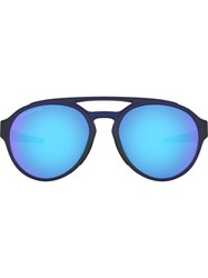 Oakley Forager Aviator Style Sunglasses Blue