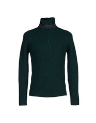 Kaos Knitwear Turtlenecks Men Dark Blue