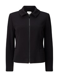 Eastex Textured Ponte Jacket Black