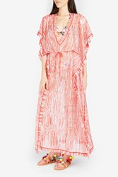 Missoni Women S V Neck Striped Kaftan Boutique1 Red