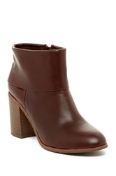 Bc Footwear Band Bootie Red