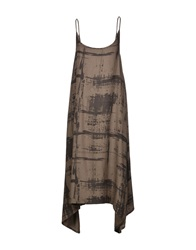Crea Concept Knee Length Dresses Khaki