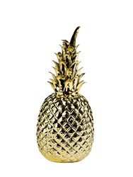 Pols Potten Gold Glazed Porcelain Pineapple