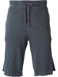 James Perse Track Shorts Blue