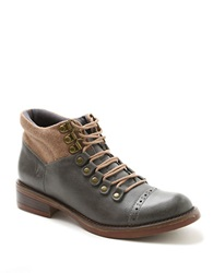 Kensie Sissel Lace Up Chukka Boots Grey