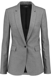 Joseph Sir Wool Blend Blazer Gray