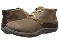 Cushe M Slipper Chukka Leather Brown Leather Men's Boots