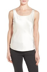 Women's Lafayette 148 New York Silk Charmeuse Tank