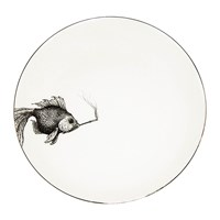 Rory Dobner Perfect Plates Puff Of Smoke Black And White