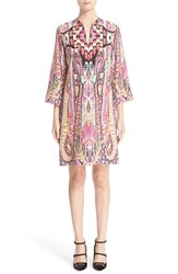 Etro Women's Ikat Paisley Print Shift Dress