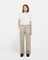 La Garconne X Save Khaki Long Chino Pant