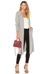 Line And Dot Cypress Duster Gray