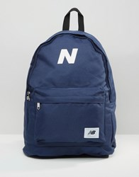 New Balance Mellow Backpack In Blue Blue